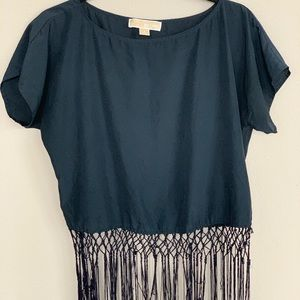 🌈Michael Kors Fringe Top